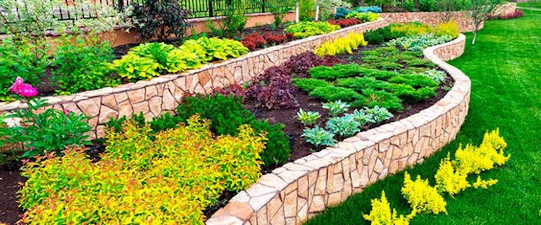 flower beds and hedge for why landscaping is important for business